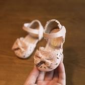 店長推薦★2018春夏女童鞋涼鞋1-2-3-4歲防滑軟底包頭~
