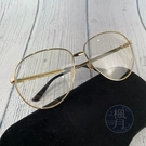 BRAND楓月 GUCCI 古馳 GG0138S 紅綠條紋 透明眼鏡 雕刻紋 邊框 經典 飛行眼鏡 透明眼鏡
