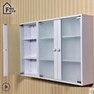 卫生间收纳柜防潮浴室玻璃柜储物柜置物阳台...
