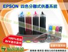 EPSON  T21/TX110/TX210/TX220/TX300F/TX600FW四色73N系列有線連續大供墨DIY套件組(防水墨)