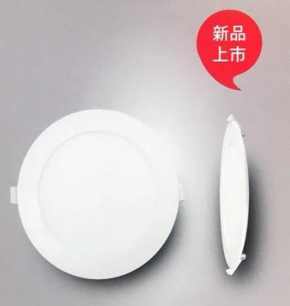 【Panasonic】高亮版 15W 15cm LED薄型崁燈 兩入組(NNP745663091)