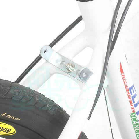 *阿亮單車*車架中管側邊轉接座,貨架安裝使用,銀色《A98-903》
