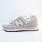 New Balance 復古休閒鞋 女款 WL574SAX 粉紫【iSport愛運動】