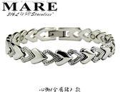 【MARE-316L白鋼】系列: 心慟(金屬鍺)   款