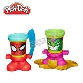 Play-Doh 培樂多 漫威英雄黏土罐遊戲組-蜘蛛人與綠惡魔 [衛立兒生活館]
