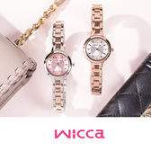 NEW WICCA BG3-732-91 時尚女錶 wicca 左款 粉色錶面