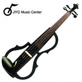 ★集樂城樂器★JYC SDDS-1603 彩繪琴身高級三段EQ電小提琴(木紋B款)