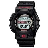 CASIO G-SHOCK 海灘型男雙重冷光設計電子錶-黑X紅(G-9100-1)