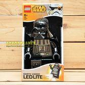 樂高手電筒 星際大戰 STAR WARS 黑武士 達斯維達 人偶造型LED手電筒 盒裝 20公分 COCOS LG797