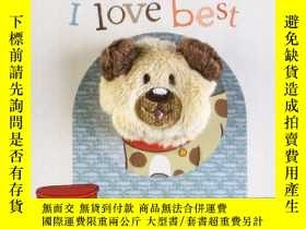 二手書博民逛書店The罕見Dog I Love Best Finger Puppet Book (Little Learners)