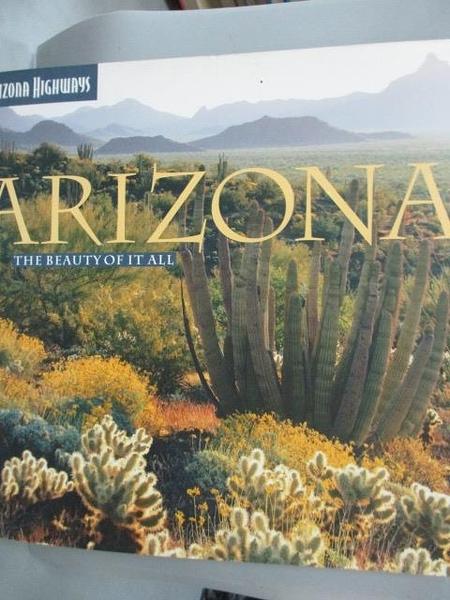 【書寶二手書T6/地理_YGC】Arizona: The Beauty of It All_Negri, Sam