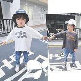 長袖 男童秋裝T恤女童韓版打底衫兒童長袖嬰兒寶寶上衣2018新款潮寬松