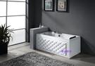 【麗室衛浴】BATHTUB WORLD  菱格時尚造形缸  YG3399M   140*70*58CM