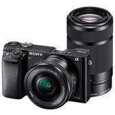 另贈原廠相機包+2好禮 6期零利率 SONY A6000Y 含16-50mm +55-210mm 雙鏡組 公司貨