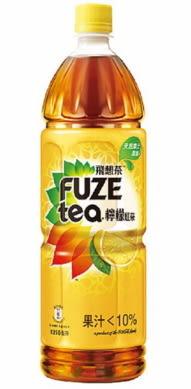 飛想茶FUSE TEA檸檬紅茶1250ML/*2瓶【合迷雅好物超級商城】