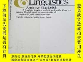 二手書博民逛書店A罕見glossary of grammar & linguis