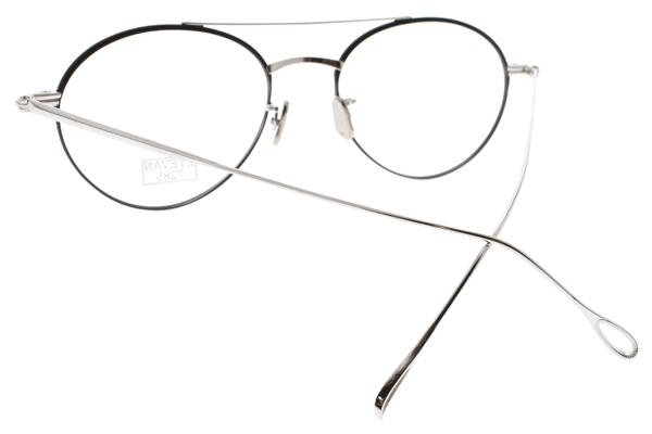 EYEVAN 7285 光學眼鏡 EV139 C8051 (黑-銀) 復古風簡約款 圓框眼鏡 #金橘眼鏡
