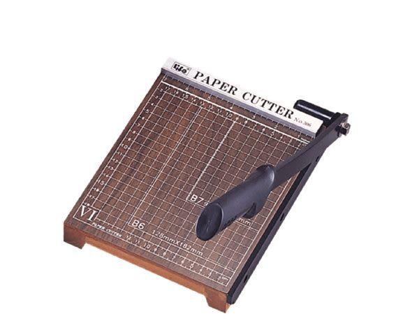 [奇奇文具]【徠福 LIFE 裁紙機】徠福LIFE NO.304 木製A4裁紙機/裁紙器/切紙機