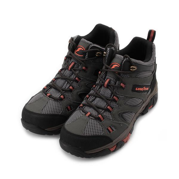 GOODYEAR FOREST OVERLORD M1 高筒防水登山鞋 綠 GAMO03405 男鞋 鞋全家福