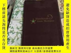 二手書博民逛書店HANDICRAFT罕見FROM MOROCCOY204356