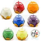 小七色蓮花酥油燈B2217(1盒)+祈安獻燈卡1張【 十方佛教文物】