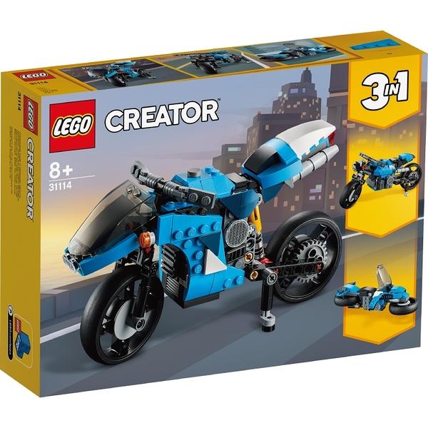 樂高積木Lego 31114 超級摩托車