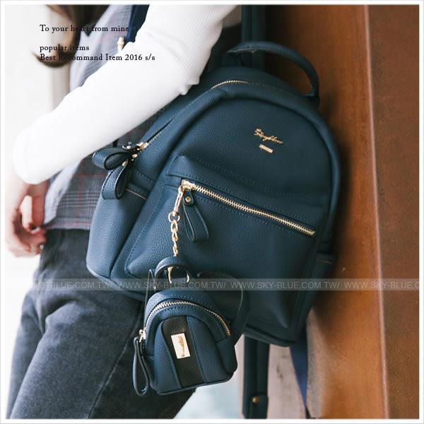 後背包-韓版skyblue原創設計皮革子母後背包-共8色-A12121018-天藍小舖