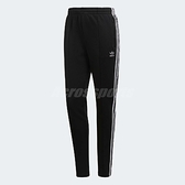 adidas 長褲 SST Track Pants 黑 白 三條線 基本款 百搭款 女款 【ACS】 CE2400