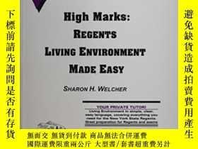 二手書博民逛書店High罕見Marks: Regents Living Environment Made EasyY30775