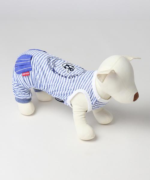 【PET PARADISE 寵物精品】Field Glide 船錨涼感連身褲 藍(3S) 狗衣服 寵物衣服《SALE》 接觸冷感