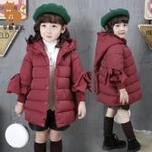 一件82折免運 女童棉衣新款寶寶棉服小童裝棉襖兒童冬裝加厚外套洋氣公主潮