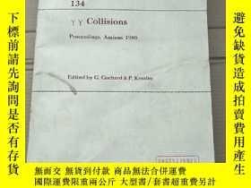 二手書博民逛書店collisions罕見proceedings Amiens 1980(P2068)Y173412
