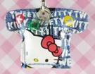 【震撼精品百貨】小黃鳥崔西_Tweety-KITTY聯名款-手機吊飾-衣服牛仔S