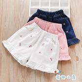 女童牛仔短褲夏季薄款外穿百搭褲子【奇趣小屋】
