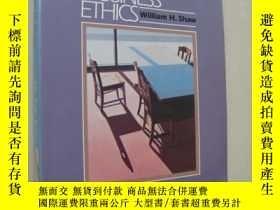 二手書博民逛書店Business罕見Ethics 《商業論理》Y146810 W