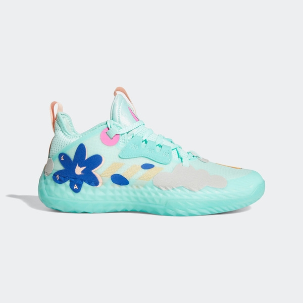 Adidas Harden Vol. 5 F 明星球鞋-03 [H68685] 男鞋 籃球鞋 貼合 舒適 避震 湖水綠
