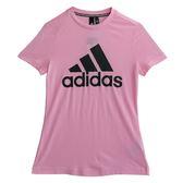 Adidas 愛迪達 W MH BOS TEE  短袖上衣 DZ0014 女 健身 透氣 運動 休閒 新款 流行