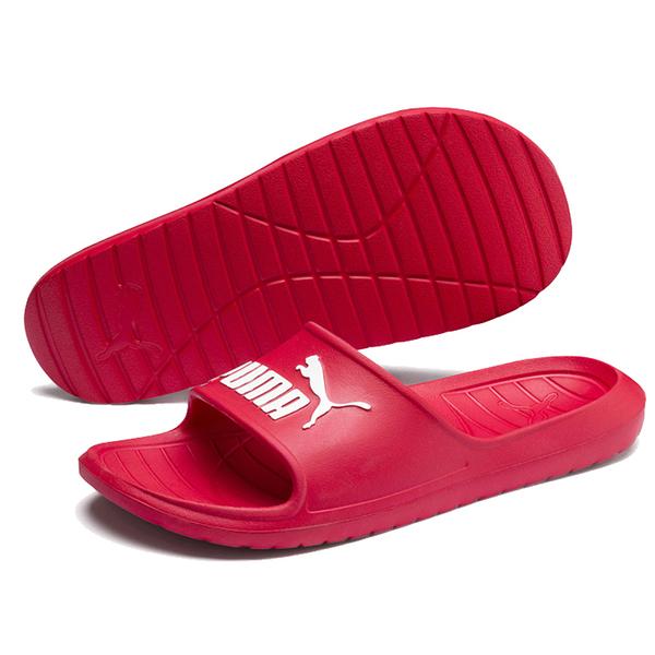 PUMA Divecat v2 男鞋 女鞋 拖鞋 防水 休閒 基本 紅【運動世界】36940014
