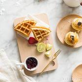 面包板兒童輔食板廚房實木砧板切菜板熟食板水果砧板 DR3721【KIKIKOKO】