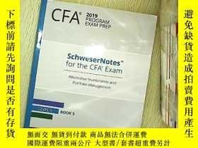 二手書博民逛書店CFA罕見2019Program exam prep 5 CFA