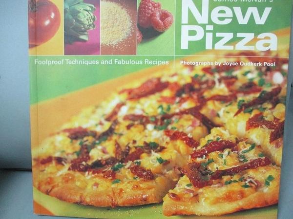 【書寶二手書T1/餐飲_MFD】James McNair s New Pizza: Foolproof...