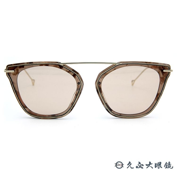 HAZE 太陽眼鏡 貓眼 墨鏡 STUMM-5RS 裸膚色 久必大眼鏡