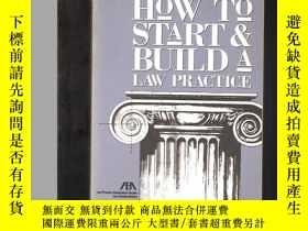二手書博民逛書店How罕見To Start & Build A Law PracticeY24040 Jay G. Foonb