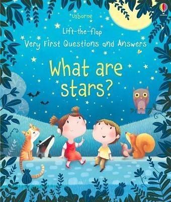 【關於星星.幼兒科普書】WHAT ARE STARS? /VERY FIRST QUESTIONS AND ANSWERS /硬頁翻翻書