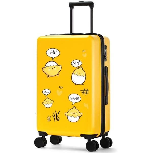 行李箱拉桿箱女萬向輪20寸登機箱韓版小清新網紅行李箱旅行箱