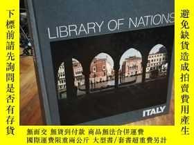 二手書博民逛書店LIBRARY罕見OF NATIONS ITALYY12800