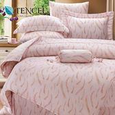 ✰雙人 薄床包兩用被四件組✰ 100%純天絲《克萊亞》