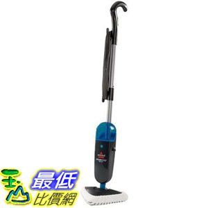 [106美國直購] BISSELL 94E9T 直立式蒸氣拖把 Steam Mop Select, Titanium