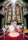 【拼圖總動員 PUZZLE STORY】Disney-夢幻教堂婚禮 日系/Tenyo/迪士尼/1000P
