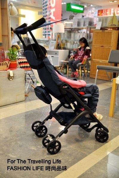 【時尚品味】嬰兒車出租 日本口袋型推車 POCKIT 新生兒 時尚藍 推車出租!